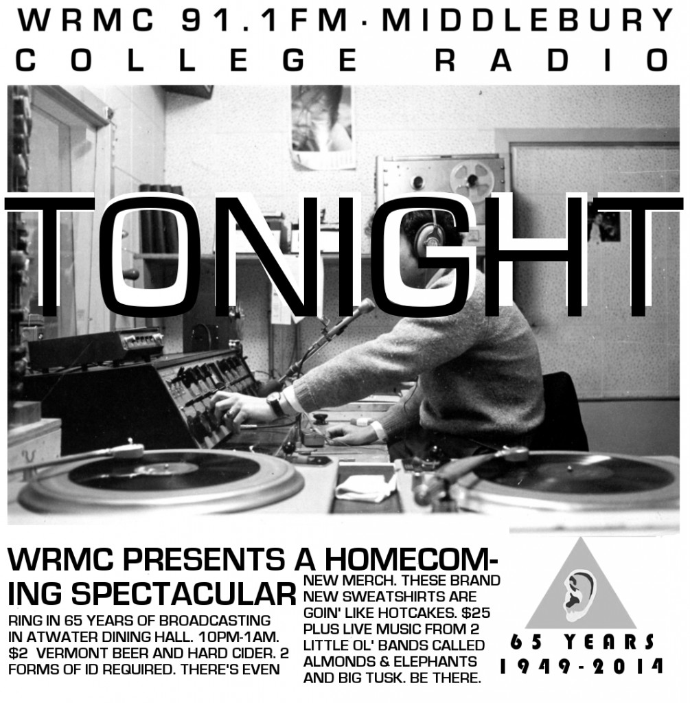 WRMC Homecoming Poster