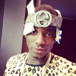 Soulja-Boy-makes-a-bandana-out-of-a-Gucci-belt