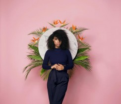 Lianne La Havas on the cover her latest album 'Blood'